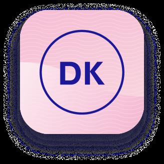 Kørekort app icon